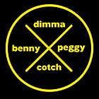 Dimma Benny Peggy Cotch by Chris Rees