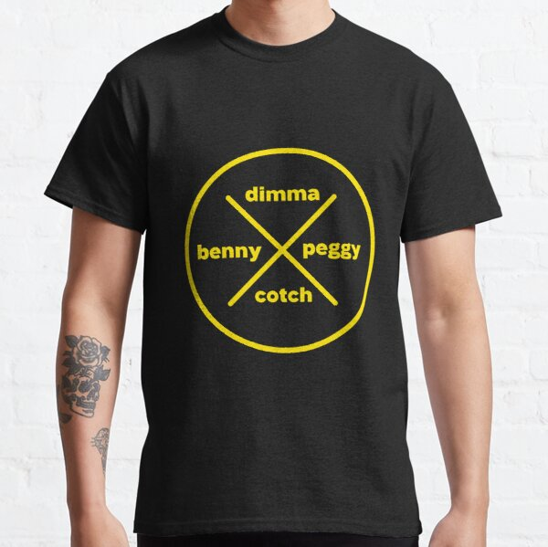 Dimma Benny Peggy Cotch Classic T-Shirt