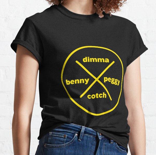 Dimma Benny Peggy Cotch Classic T-Shirt
