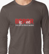 Big Red BRRR - Frost Football T-Shirt