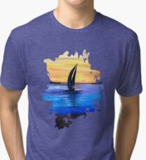 Sail Away Tri-blend T-Shirt