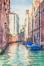 Where City Meets The Sea by Evelina Kremsdorf