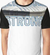 Silverdome Strong - Legendary Pontiac Football Stadium Gear Graphic T-Shirt