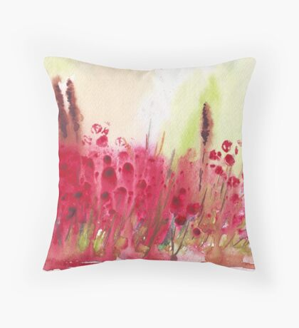 Summer madness Throw Pillow