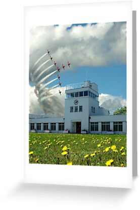 Brooklands Flypast by Colin  Williams Photography