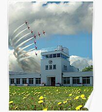 Brooklands Flypast Poster