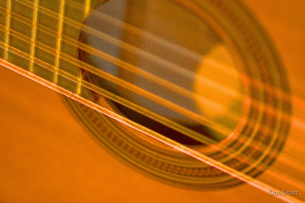 Close Guitar by Don Stott