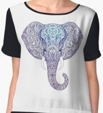 Elephant mandala Women's Chiffon Top