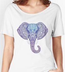 Elephant mandala Women's Relaxed Fit T-Shirt