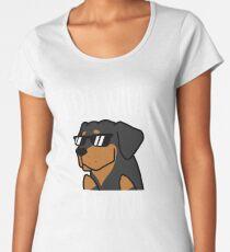 Funny I Do What I Want Rottweiler Women's Premium T-Shirt