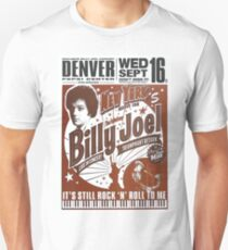 Poster exclusive concert 16th Billy Joel Piano Man Unisex T-Shirt