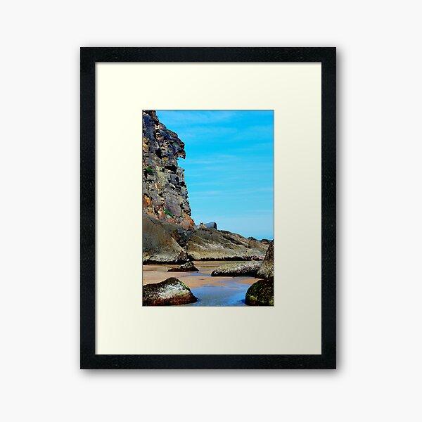 Eagle Face - Redhead Beach NSW Framed Art Print