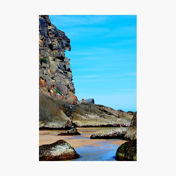 Eagle Face - Redhead Beach NSW Photographic Print