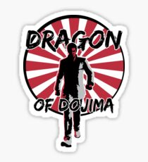 Dragon of Dojima Sticker