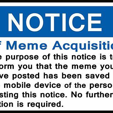 Notice of Meme Acquisition by IANJJUN