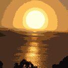 Superb sunset by evapod