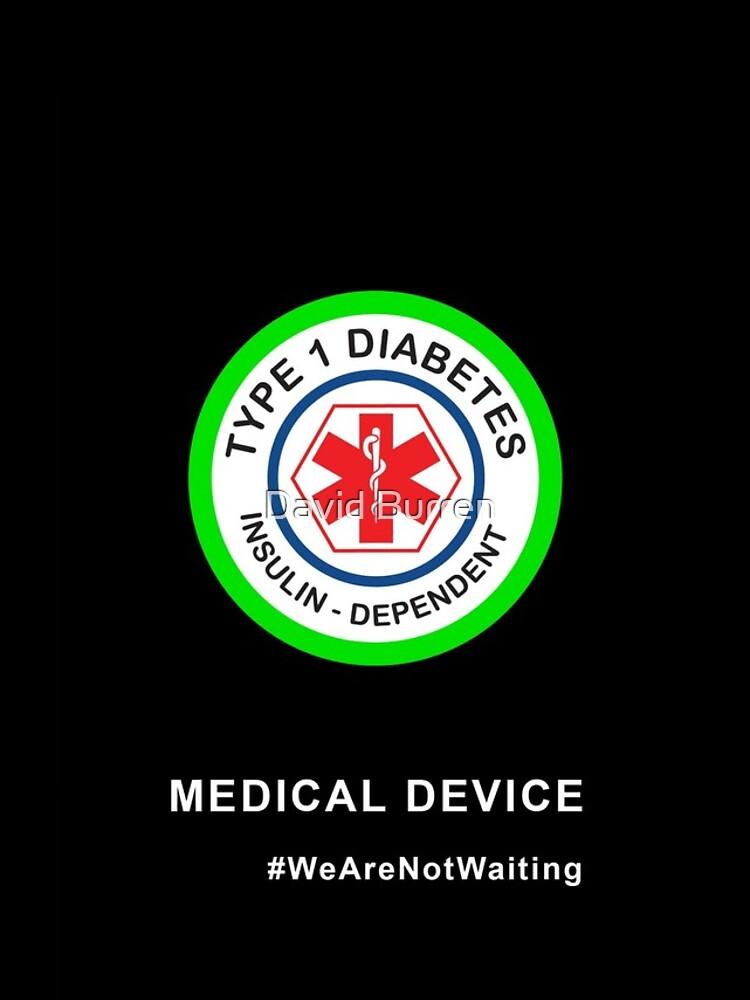 """Medical device"" phone case (black) by DavidBurren"