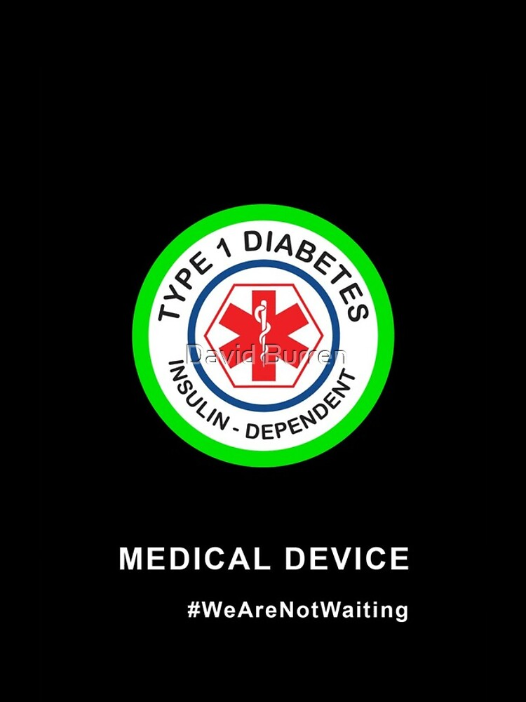 """Medical device"" phone case (black) by DavidBurren"