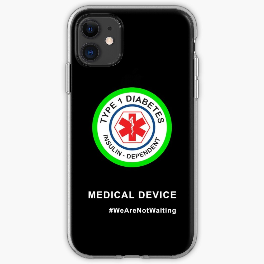 """Medical device"" phone case (black) iPhone Case & Cover"