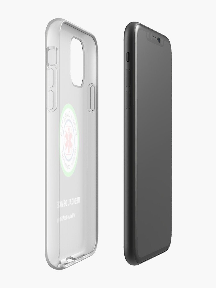 "Alternate view of ""Medical device"" phone case (black) iPhone Case & Cover"