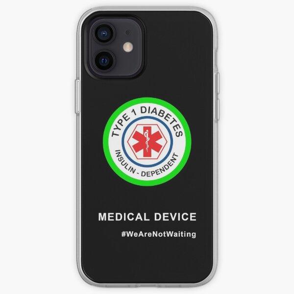 """Medical device"" phone case (black) iPhone Soft Case"