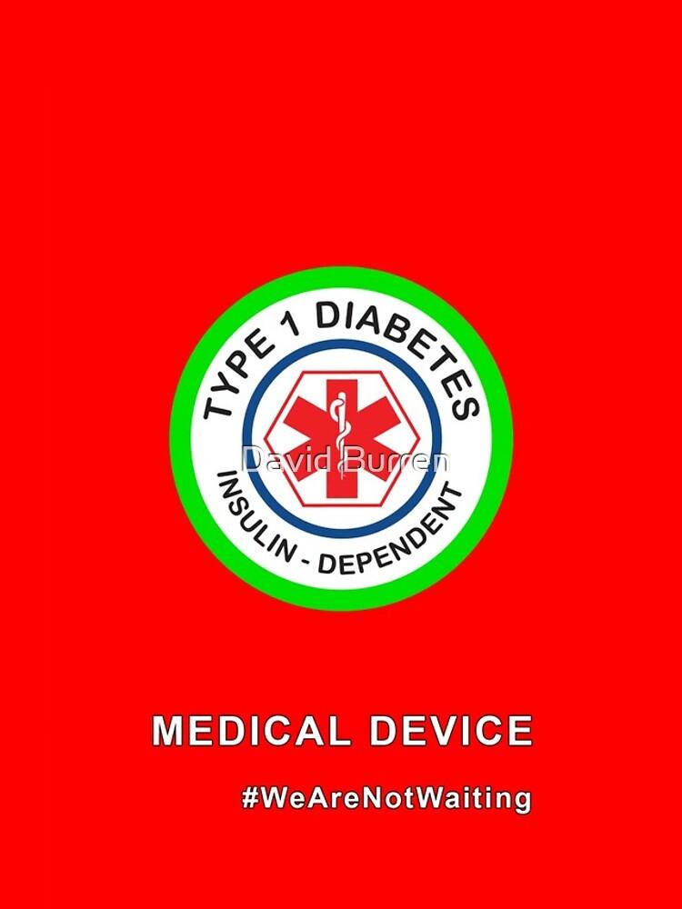 """Medical device"" phone case (red) by DavidBurren"
