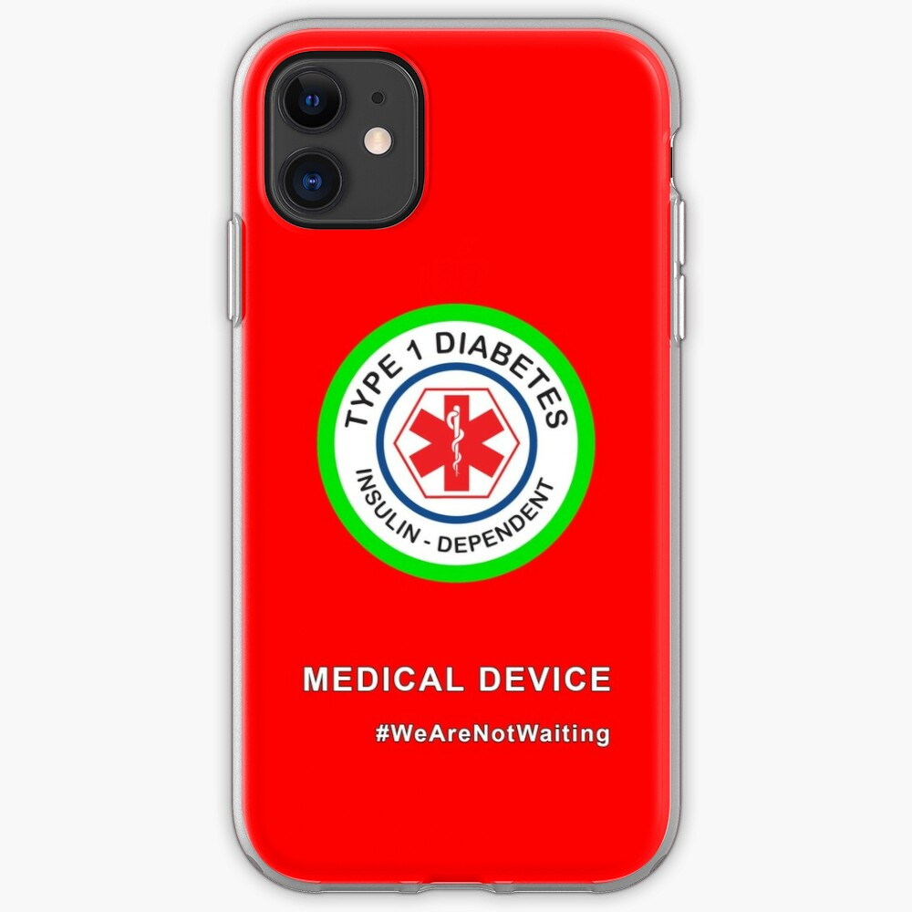 """""""Medical device"""" phone case (red) iPhone Case & Cover"""