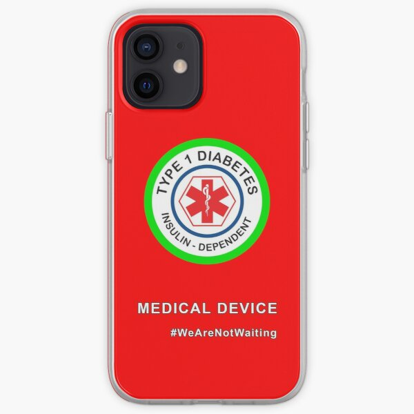 """""""Medical device"""" phone case (red) iPhone Soft Case"""