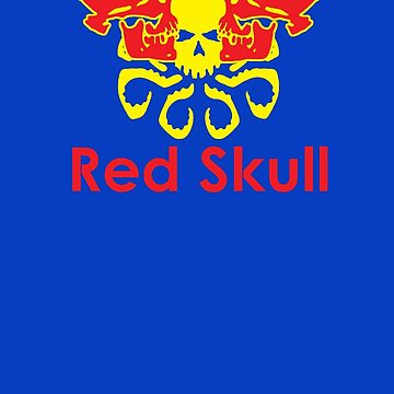 Red Skull energy drink by DangeRuss