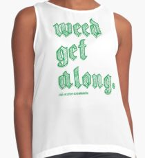 Weed Get Along Contrast Tank
