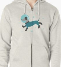 Dogs of the Future Zipped Hoodie