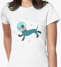 Dogs of the Future Women's Fitted T-Shirt