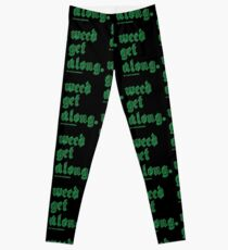 Weed Get Along Leggings
