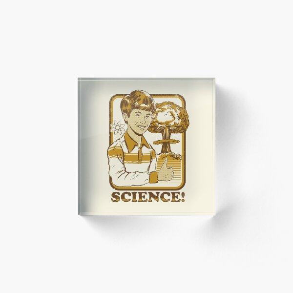 Science! Acrylic Block