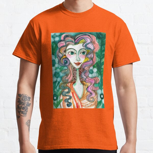 Happy Woman  Classic T-Shirt
