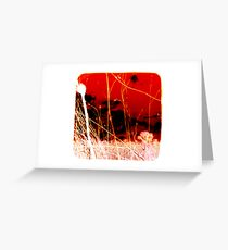 Madness Over There Greeting Card