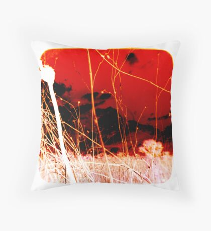Madness Over There Throw Pillow