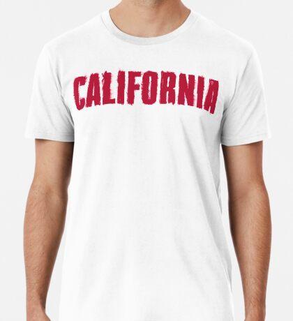 California Distressed Style Premium T-Shirt