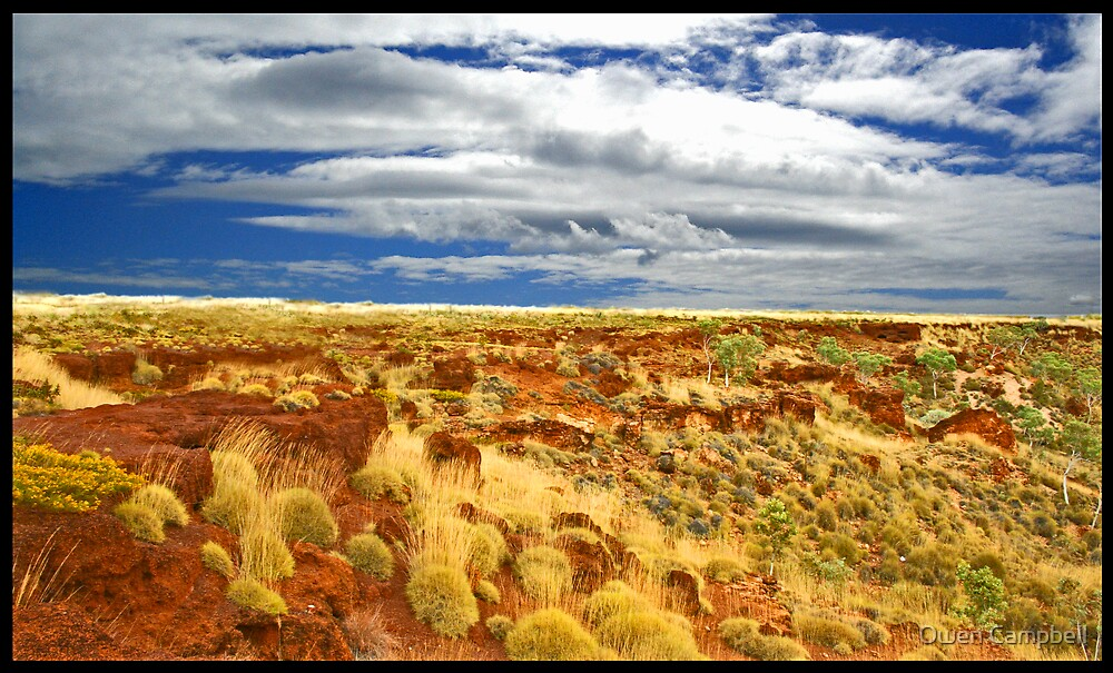 Red Outback by Owen Campbell