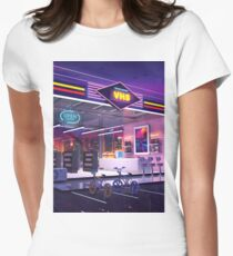 VHS Video Store Women's Fitted T-Shirt