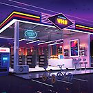 VHS Video Store by dennybusyet