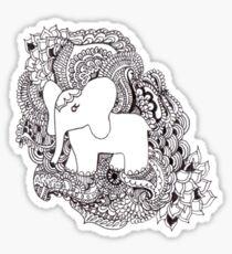 The Little Elephant Sticker