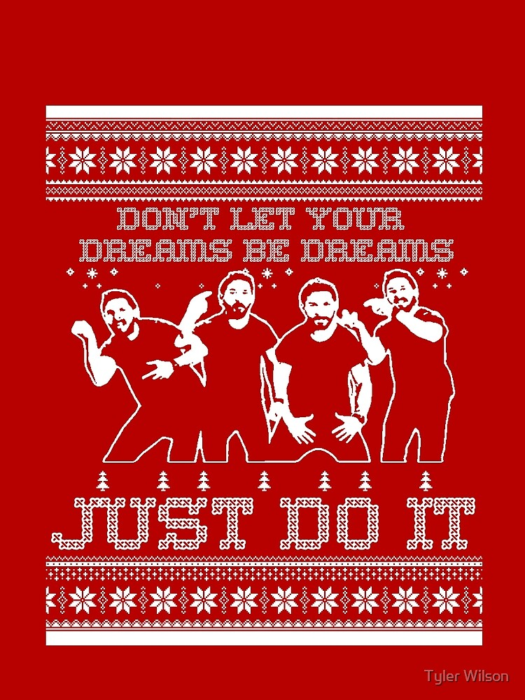 Just Do It Christmas Sweater\
