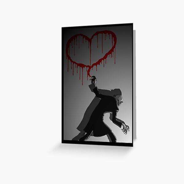 Nosferatu Heart Greeting Card