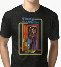 Timmy has a Visitor Tri-blend T-Shirt