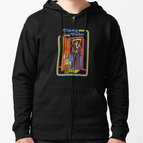 Timmy has a Visitor Zipped Hoodie