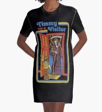 Timmy hat einen Besucher T-Shirt Kleid