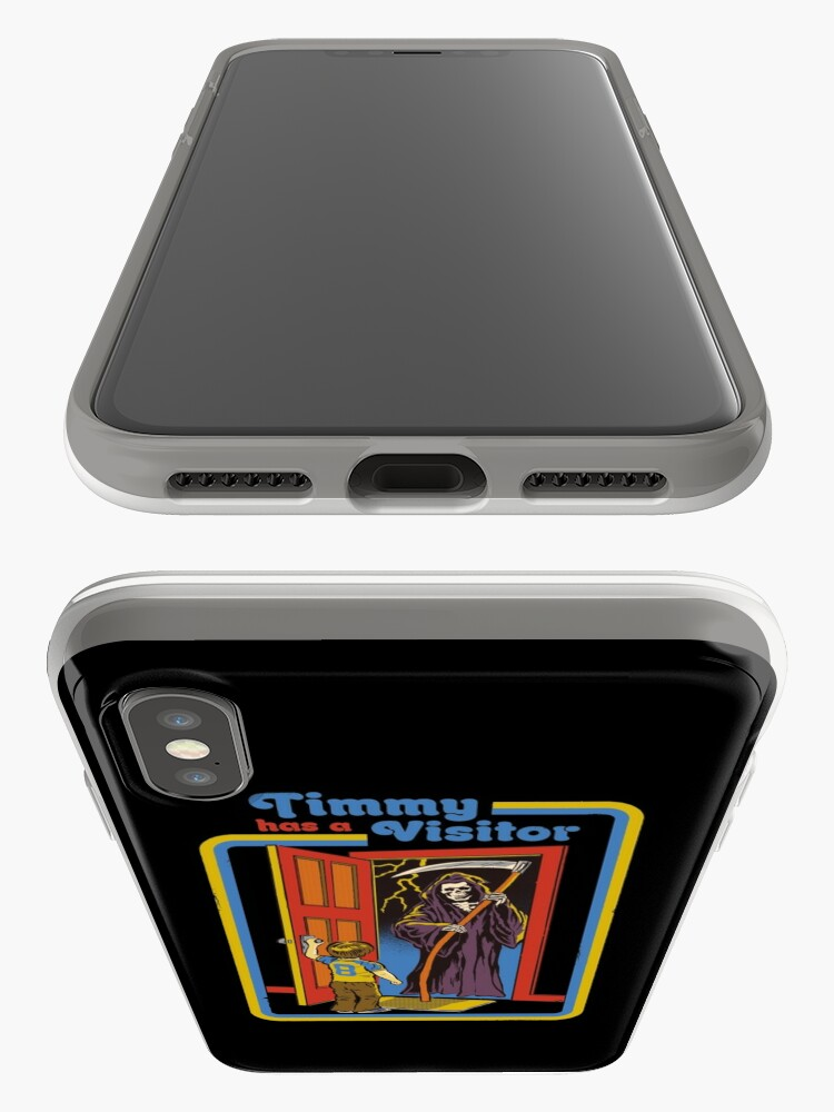 Alternate view of Timmy has a Visitor iPhone Case & Cover