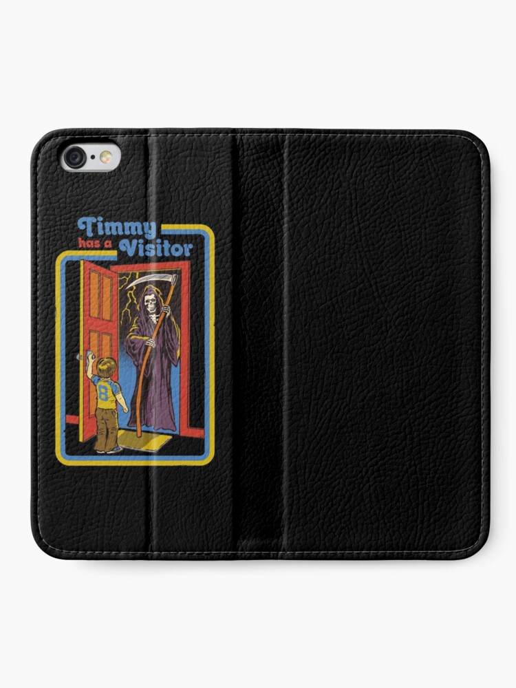 Alternate view of Timmy has a Visitor iPhone Wallet