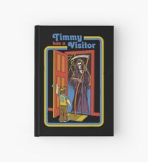 Timmy has a Visitor Hardcover Journal